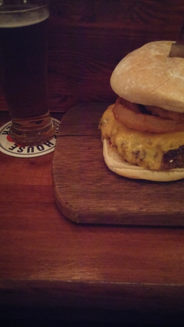 Burger and Cider